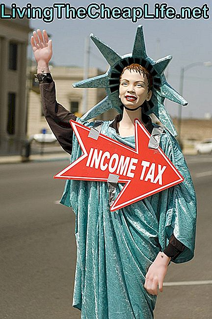 Income Tax Statue of Liberty