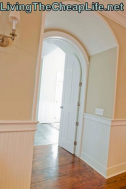 Billige Wainscoting Ideer: wainscoting