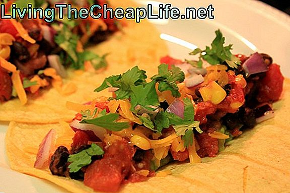 Frugal Gourmet: Black Bean Tacos