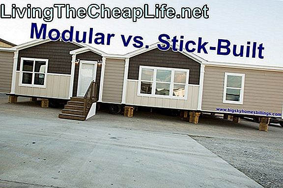 Ceny Modular Vs. Stick Built Homes