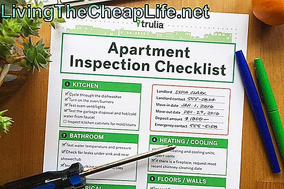 Apartment Inspection Checklist Form