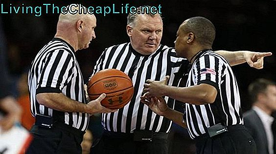 NCAA Basketball Official Salary