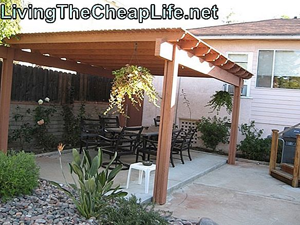 Billige Backyard Deck Ideas