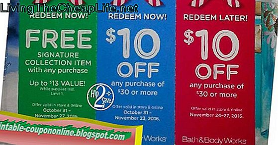 Printable Coupon Bath Body Works