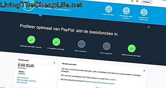 Hoe een Paypal-account te activeren