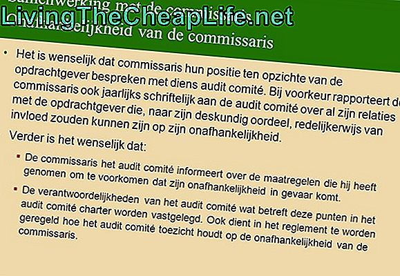 Hoe informeert de IRS over een audit?